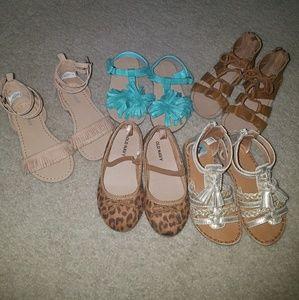 Toddler Girl Spring/Summer Sandal Lot
